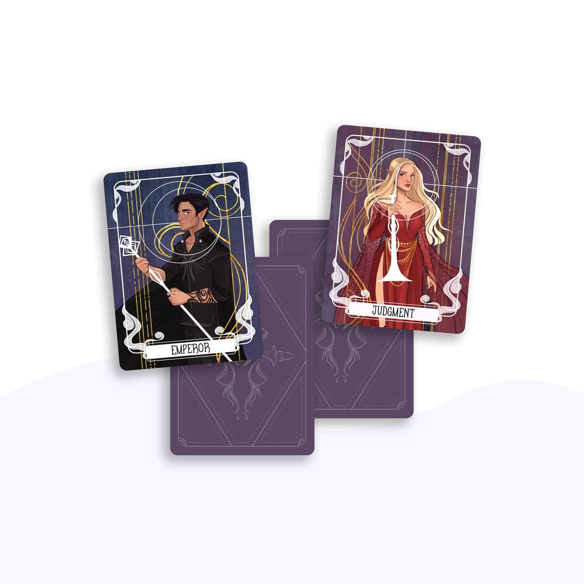 Emperor & Judgement Tarot Cards